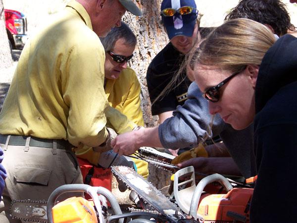 Colorado Firecamp S 212 Wildland Fire Chain Saws